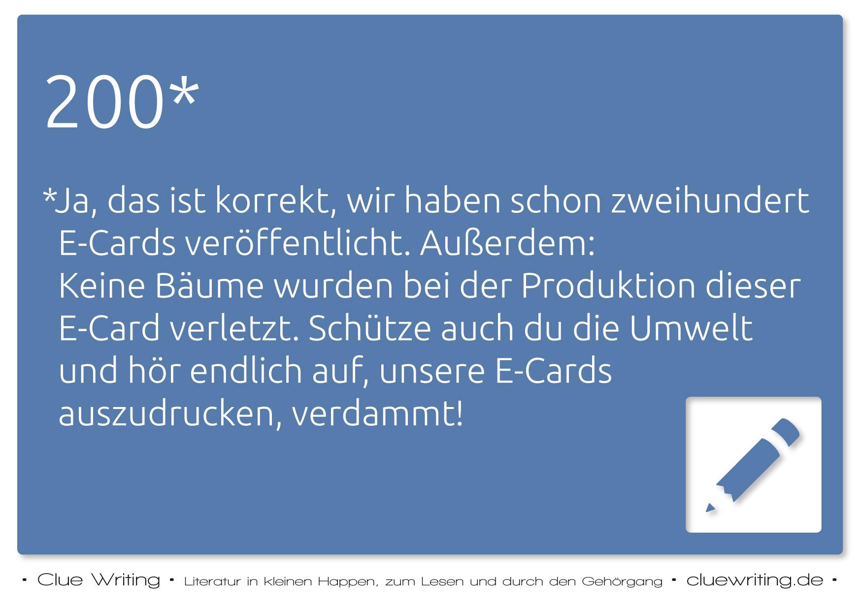 Zufalls-E-Card